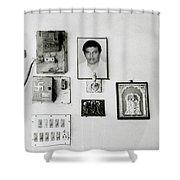Cochin Shrine Shower Curtain