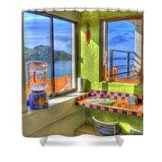Cocina Con Vista Shower Curtain