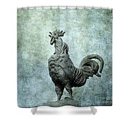 Cock Shower Curtain