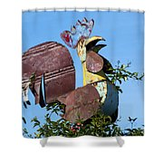 Cock Of The Roost Shower Curtain