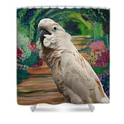 Cockatoo  Shower Curtain
