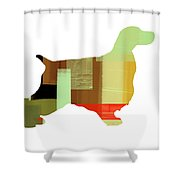 Cocker Spaniel 1 Shower Curtain by Naxart Studio