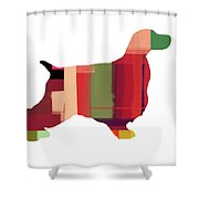 Cocker Spaniel 2 Shower Curtain by Naxart Studio
