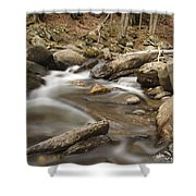 Cockermouth River - Groton New Hampshire Usa Shower Curtain