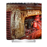 Cockshutt Tractor Shower Curtain