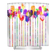 Cocktail Hour 1 Shower Curtain