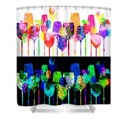 Cocktail Hour 2 Shower Curtain