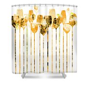 Cocktail Hour 4 Shower Curtain