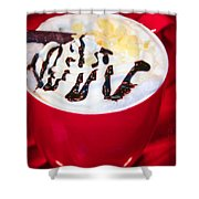 Cocoa Java Coconut Bliss Shower Curtain