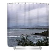 Coconut Coast Shoreline Shower Curtain