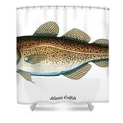 Codfish Shower Curtain