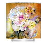 Coeur De Rose Shower Curtain