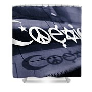 Coexist Shower Curtain