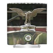 Coey Flyer Shower Curtain