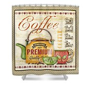 Coffee-jp2573 Shower Curtain