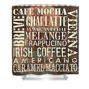 Coffee Of The Day 1 Shower Curtain