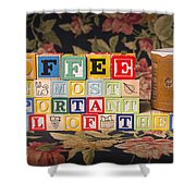 Coffee The Most Important Meal Of The Day Shower Curtain