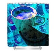 Coffee Time My Time 5d24472p168 Shower Curtain