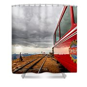 Cog At 14115 Feet Shower Curtain
