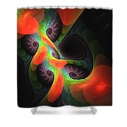Cognitive Malfunction Shower Curtain