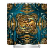 Coherence - Abstract Art By Giada Rossi Shower Curtain by Giada Rossi