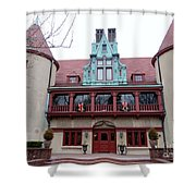 Coindre Hall Entrance Shower Curtain
