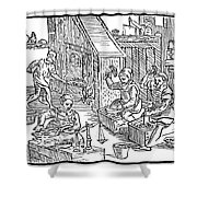 Coiners, 1577 Shower Curtain