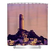 Coit Tower Shower Curtain