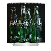 Coke Bottles From The 1950s Shower Curtain