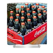Coke Case Shower Curtain