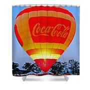 Coke Float Shower Curtain