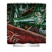 Coke Return For Deposit Shower Curtain