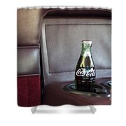 Coke To Go Shower Curtain
