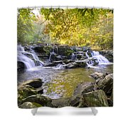 Coker Creek Falls Shower Curtain