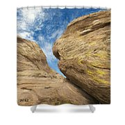 Colby's Cliff Shower Curtain