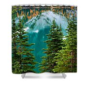 Colchuck Reflection Shower Curtain