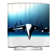 Cold And Hard... Shower Curtain