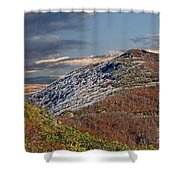 Cold Day On The Blue Ridge Shower Curtain