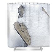 Cold Dead Shower Curtain