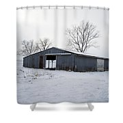 Cold Desolation Shower Curtain