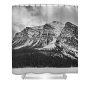 Cold Face Shower Curtain
