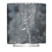 Cold Finger Shower Curtain