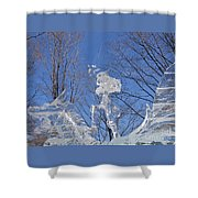 Cold Fury Shower Curtain
