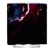 Cold Heart Hot Blood Shower Curtain