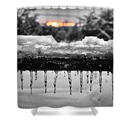 Cold Morning Light Shower Curtain
