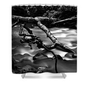 Cold Mountain Stream Hdr Work #1 Shower Curtain