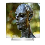 Cold Stare Shower Curtain