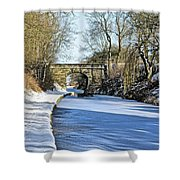 Cold Start Shower Curtain