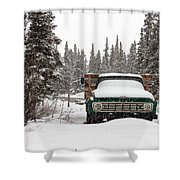Cold Storage Shower Curtain