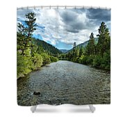 Cold Waters Shower Curtain